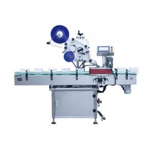 Automatic Flat Labeling Machine For Cosmetics