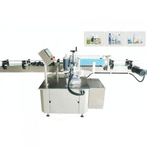 Circular Post Labeling Machine