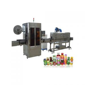 Conical Bottle Adhesive Labeling Machine