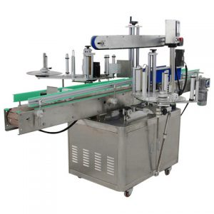 Honey Cans Two Side Labeling Machine