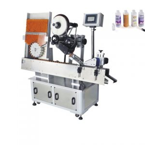 Automatic Labeling Machine Double Sides For Square Bottle