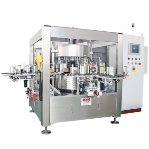 Automatic 60ml E Liquid Round Bottle Labeling Machine