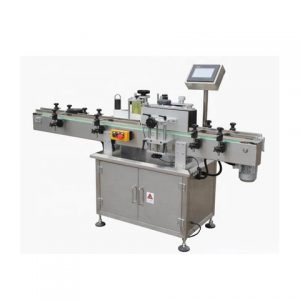 Directly Round Bottle Labeling Machine For Spice Sauce