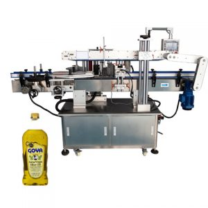 Labeling Machine For Shampoo Bottle