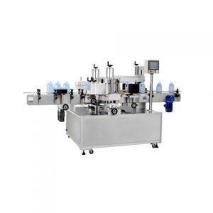 מכונת תווית מבוקרת של Whosale Plc לבקבוק עגול